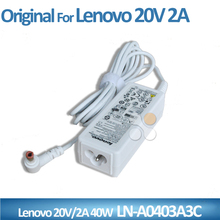Original 20V 2A 40W AC power adapter for lenovo LN-A0403A3C laptop charger supply 5.5*2.5mm dc connector