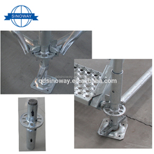 Hot Sale Used aluminum cuplock s Layher Scaffolding with Good Price