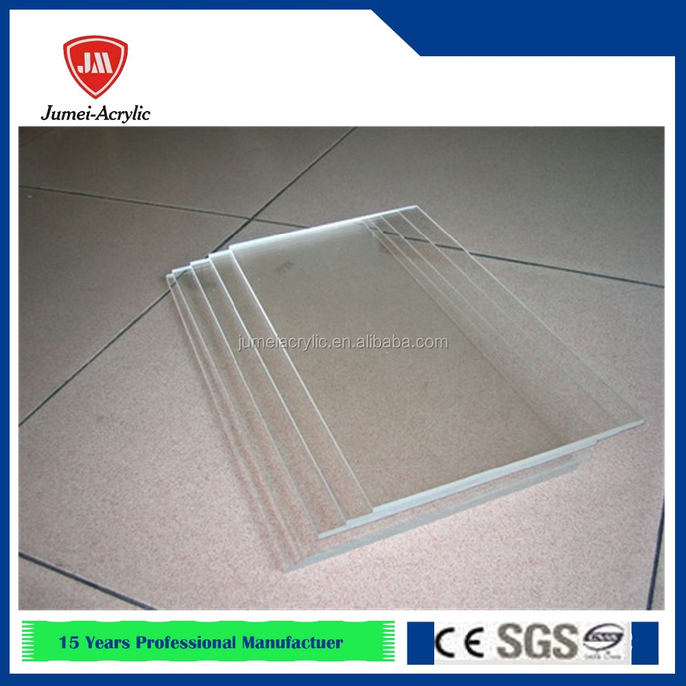 Crack Resistant Thermal Bending 4u0027x8u0027 Clear Table Top Acrylic Display Stands