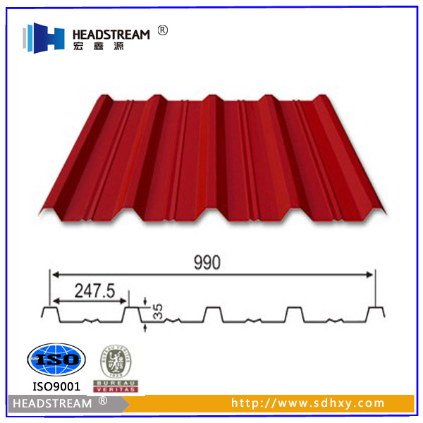 Brand new high rib roofing sheet from alibaba china