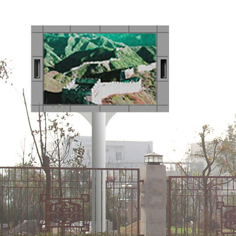 double side,two sides P10 front service outdoor LED display Two side mobile Led display Mobile HX-P12 LED display