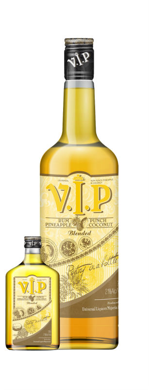 Universal V.I.P Blended Rum Punch Pineapple & Coconut