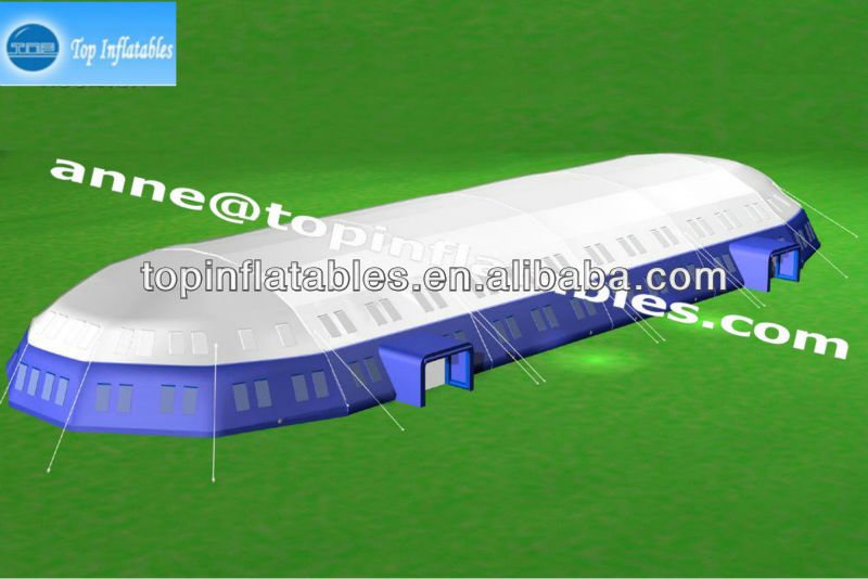 TOP inflatable tennis court cover,inflatable trade show tent