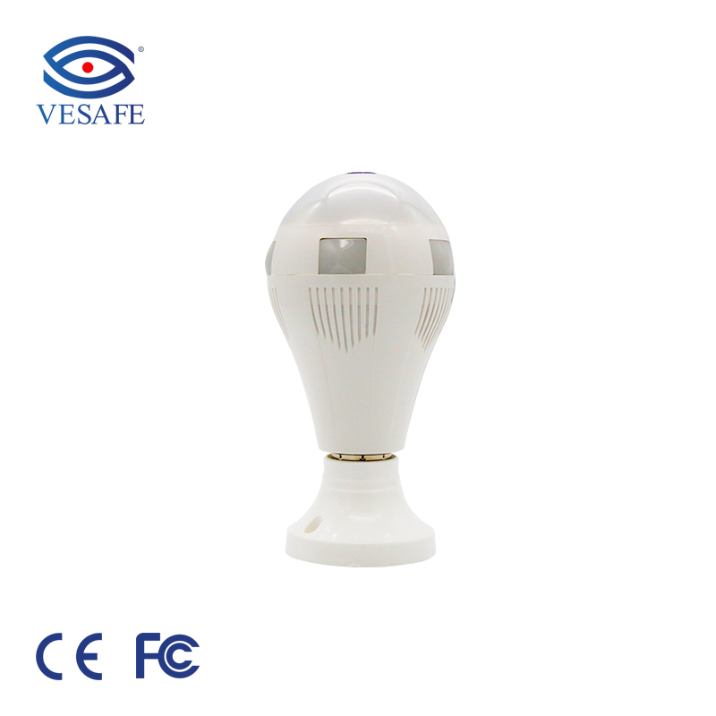 360 degree 960p wifi light <strong>bulb</strong> cctv camera with motion sensor