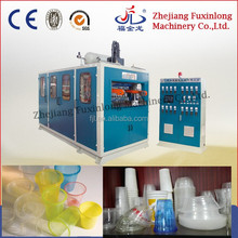 Automatic hi-speed hydraulic plastic cup glass making machine, plastic cup forming filling sealing machine