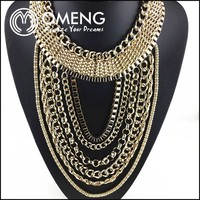 2015 Hot Sell Collares De Moda 2015 Bulk Wholesale Gold Jewellery