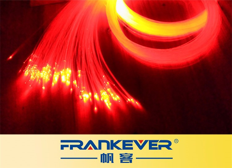 Customise PMMA lighting fiber optics cable customise fiber bundle for led light engine