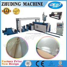 PP PE glue extrusion paper non woven PP woven coating machine