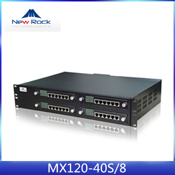 Promotional FXS FXO gateway support T.30 and T.38 FAX for IP Call Center