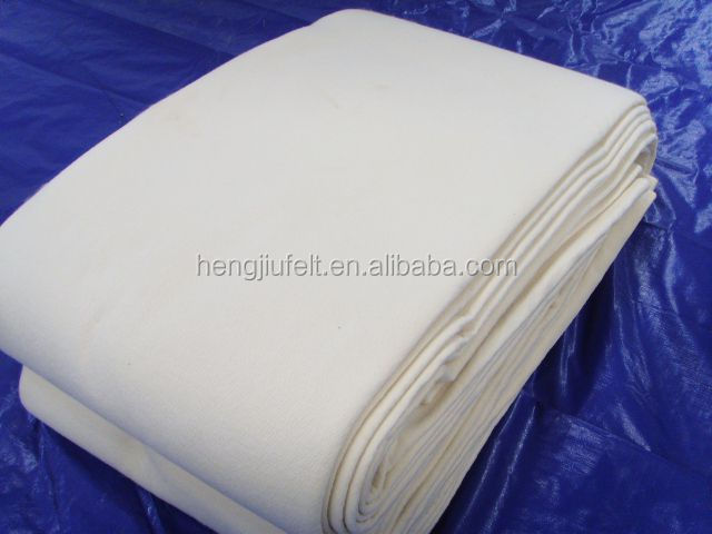 skillful manufacture 100% wool industry felt/wool pressed felt