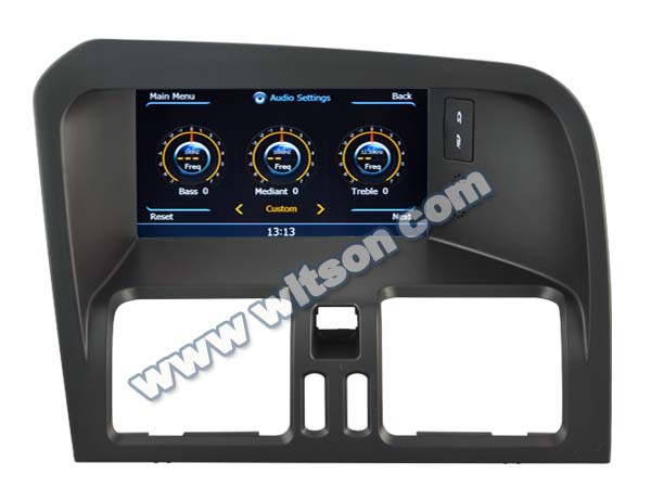 WITSON car multimedia VOLVO XC60 WITH A8 CHIPSET 1080P V-20DISC WIFI 3G INTERNET DVR SUPPORT