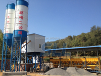 180m3/h dry mix concrete batching plant with Best Price