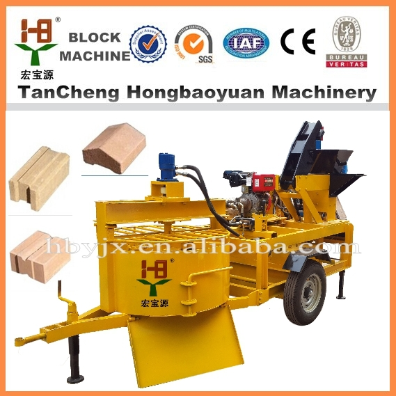 China alibaba M7MI Portable interlocking Clay Brick Making Machinery