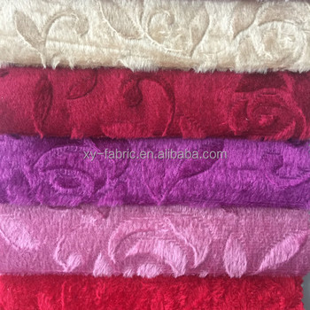 2017 hotsale cheap shiny velboa with plastic dot for sofa cover