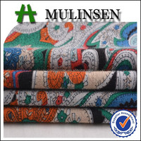 Knitting Rayon Viscose Discharge Printed Fabric with Elasticity