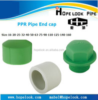 Best price PPR pipe fittings plastic caps and plugs