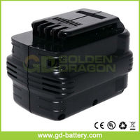 24V Dewalt DE0240 power tool battery, Dewalt 24V 3.3Ah NI-MH cordless drill battery