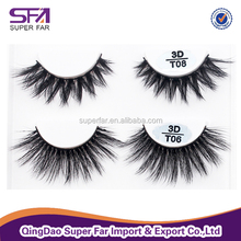 Wholesale thick and soft 3d faux mink lashes