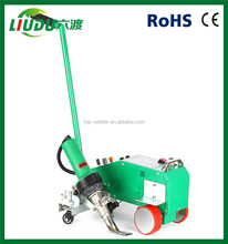 leister heat gun Hot air PVC welding machine price/flex banner welding machine/seaming machine