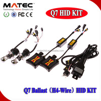 High Quality Auto Vision fast bright hid ballast 55w 12v with h1 h4 h7 h11 h13 9004 9005 9006 9007 hid bulb