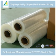 Plastic protective wrap stretch film