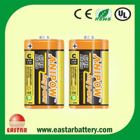 Super Power lr20 Alkaline Battery 1.5v D Dry Battery for Smoke Detector