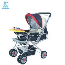 Hot Sale Steel Tube 2 In 1 Baby Stroller Baby Pram With Music