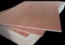 Hot sale!! red oak veneer laminated mdf for wholesales