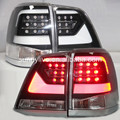 2008-2014 year Land Cruiser FJ200 LC200 OEM LED Tail Lamp YZ Black Housing Clear len