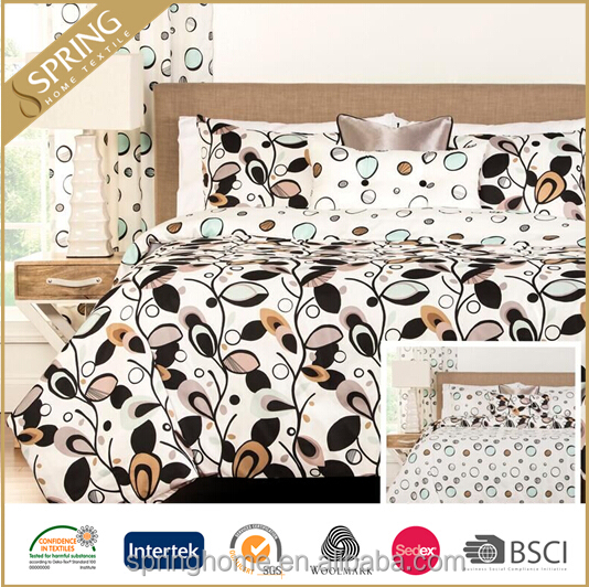 100% Polyester luxury bed linen set, nobility bedding, export import china Quilt/Duvet cover set