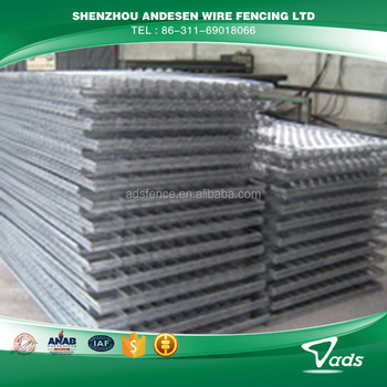Hot-dipped galvanized 3d eps wire mesh panel