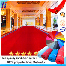 100% Polyester Exhibition carpet for outer/welding/commercial/ on sale with factory price