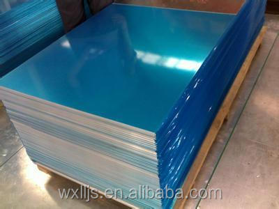 Chinese best selling Wholesale Blank License Aluminium Plate 3003 3105 1100 1050 1060 5052 2024 5754