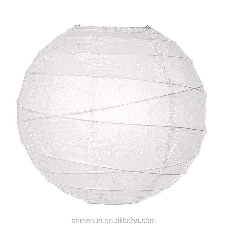 Wholesale Crisscross White Paper Lantern for Home Decor