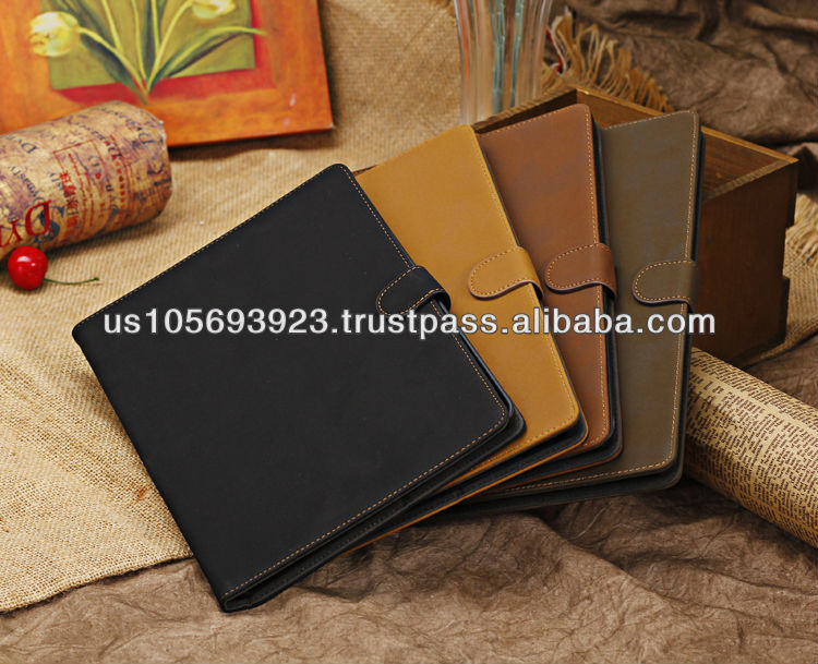 Retro Magnetic Smart Stand Leather Case For Ipad Air( ipad 5) 4Color