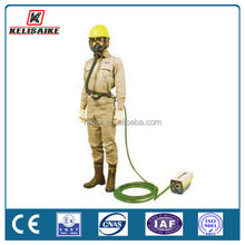 Long tube electric supplied air respirator