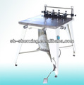 Manual vacuum tabletop screen printing machine