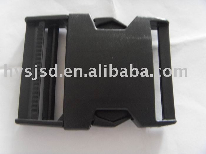 "black plastic 2"" side release buckle"