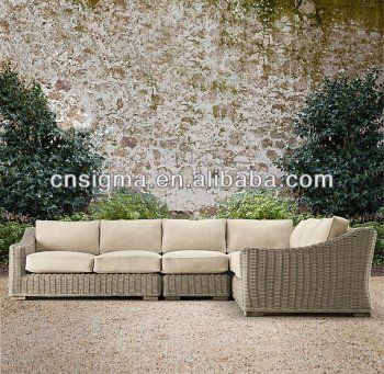 2015 Hot Sale outdoor furniture round wicker modern rattan furniture