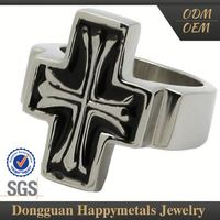 Specialized With Logo Movable Stainless Steel Ring
