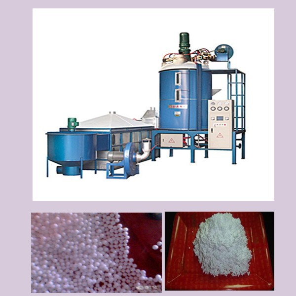 EPS polystyrene beads filling pre-expander machine for bean bag sofa with factory price