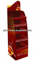 Cardboard Display Stand Food Display Counter for Coffee
