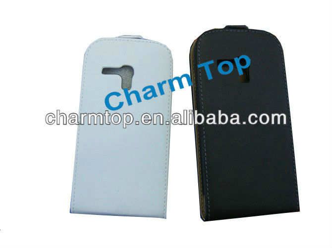 Magnetic Flip Leather Case for Galaxy S3 Mini