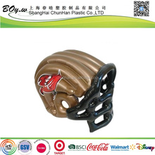 SGS testing factory customized promotion gifts children hat toy inflatable pvc helmet