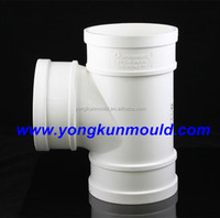 Plastic PVC pipe fitting mould maker