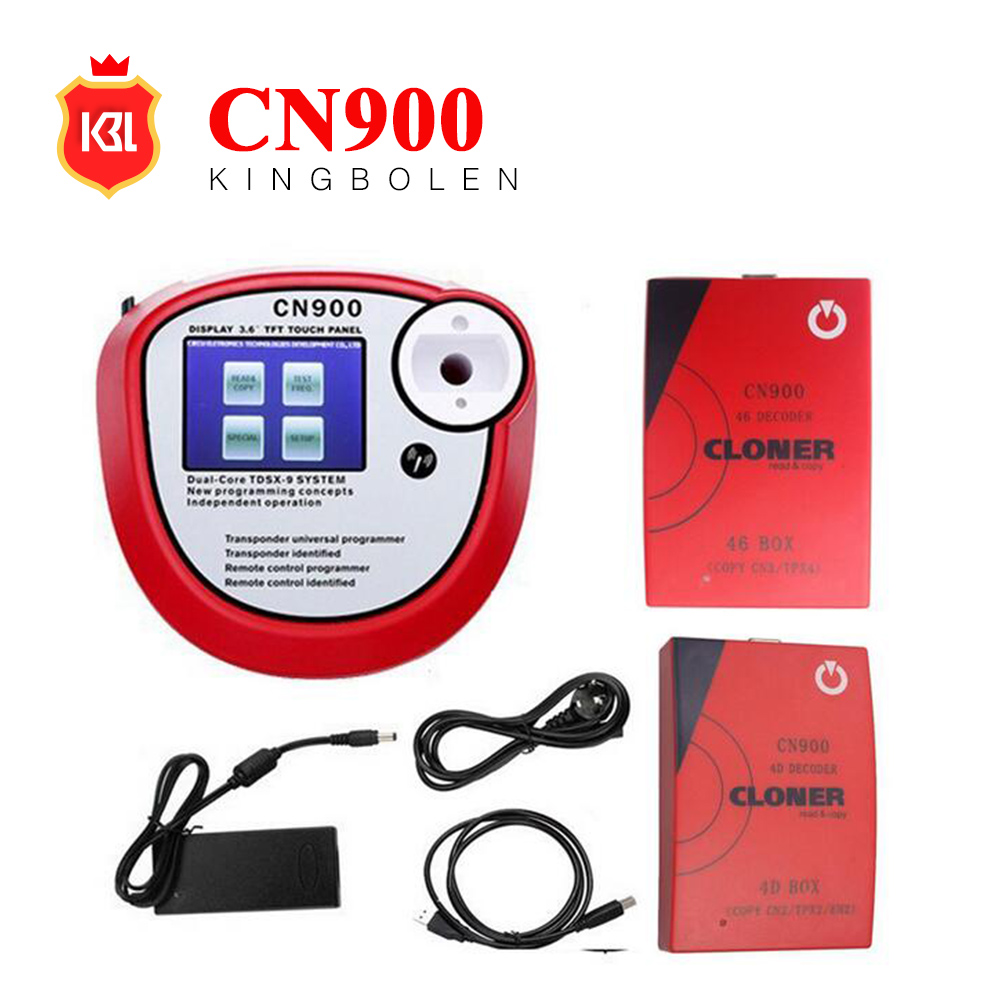 2017 Newest Original CN900 key programmer+4D Decoder box+46 decoder box full set on sale online update