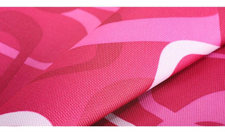Waterproof 600D fabrics polyester for umbrellas