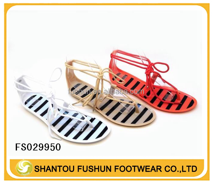 BRAND NEW WOMAN LACE JELLY SANDAL