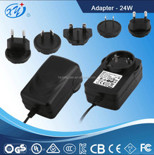15V 500Ma Ac Dc Cassette Travel Adapter for Notebook Universal