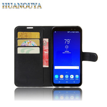 For Samsung S8 phone case PU leather wallet flip, cell phone case for Samsung S8 plus